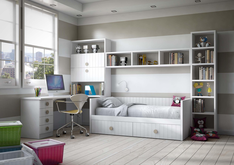 dormitorio juvenil compacto 1