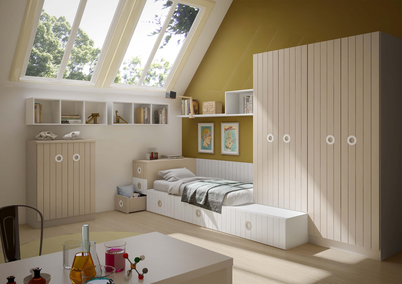 dormitorio juvenil en toledo tatami 14