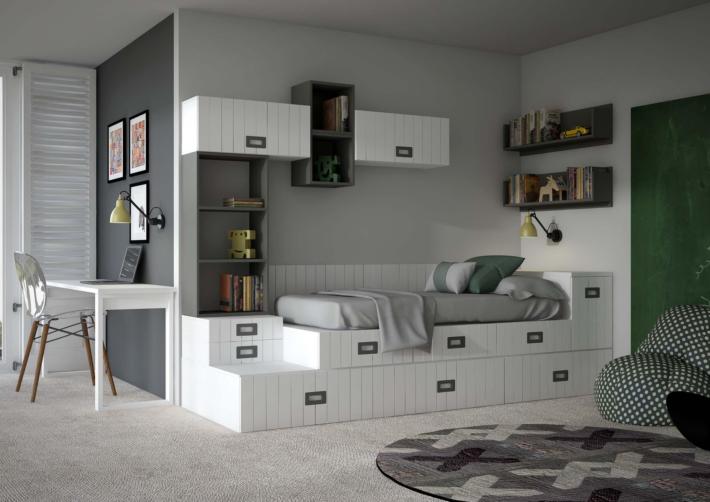 Dlpmobiliario fabricante de dormitorios juveniles en for Mobiliario dormitorio juvenil