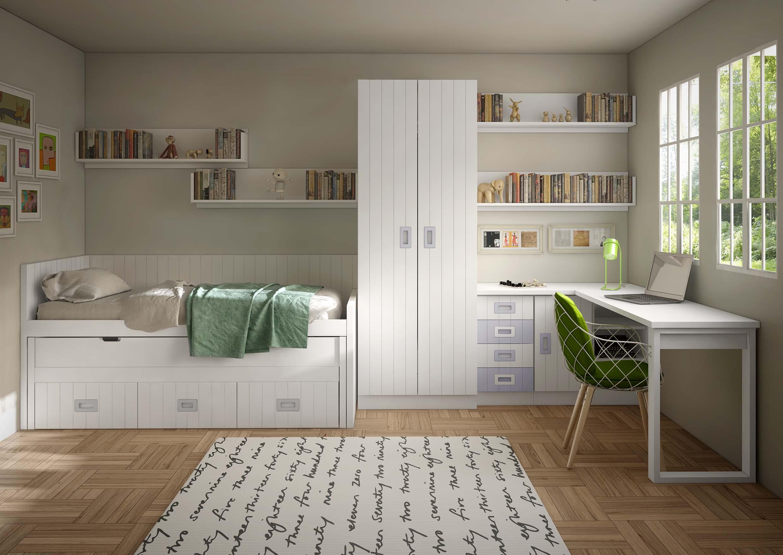 dormitorio juvenil compacto 2