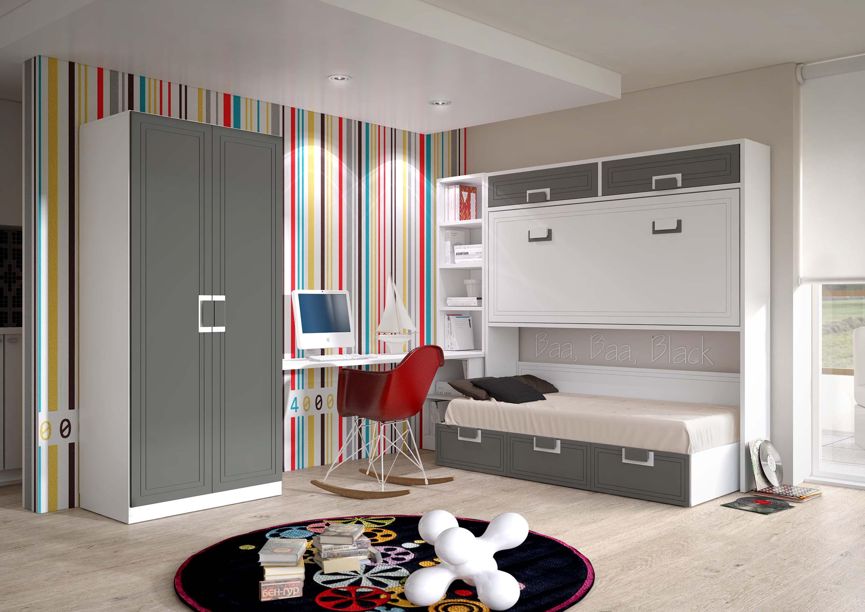 Dlpmobiliario fabricante de dormitorios juveniles en for Habitaciones juveniles abatibles
