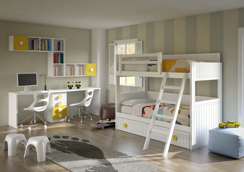 dormitorio juvenil literas en toledo 28