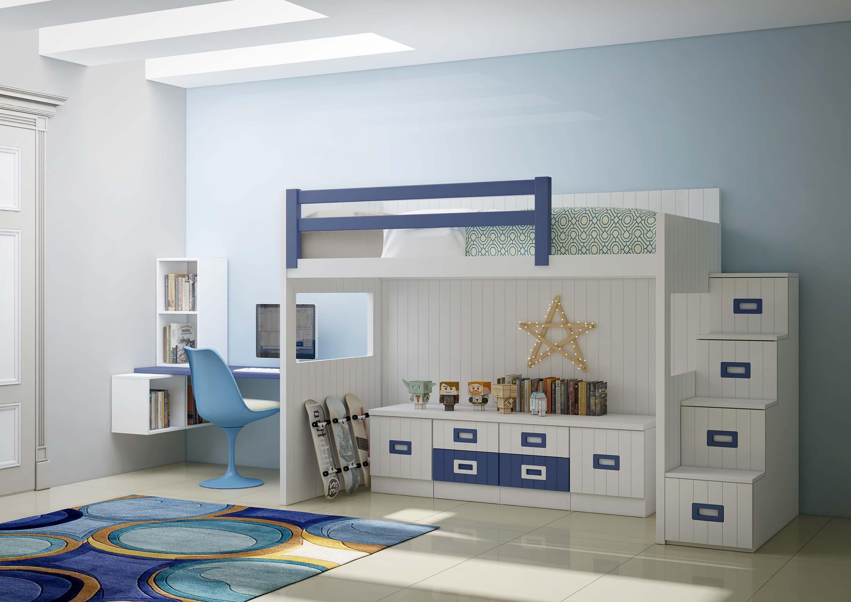 dormitorios juveniles con litera en toledo 30