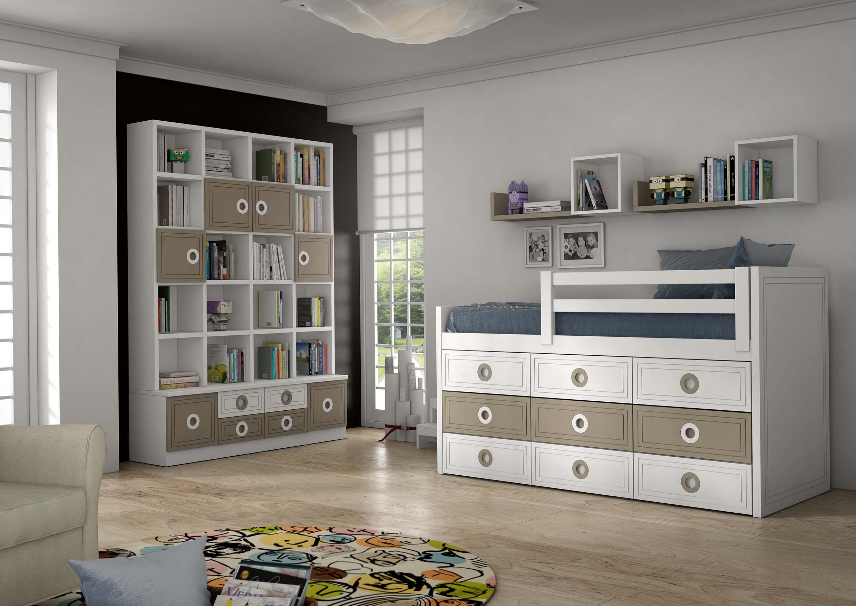 dormitorios juveniles en toledo compacto