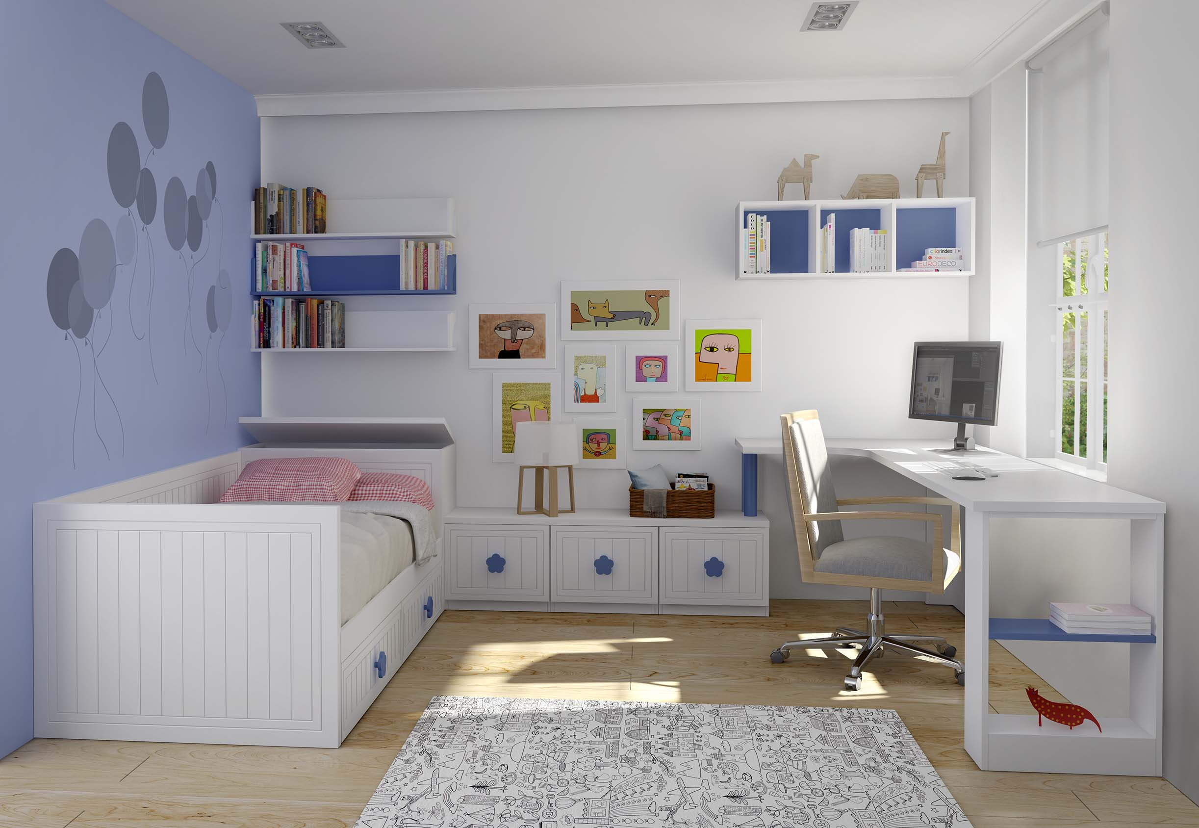 Compacto 5 dlpmobiliario fabricante de dormitorios - Fabricantes de dormitorios juveniles ...